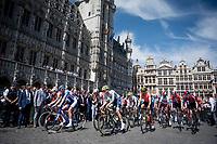 departure at the race start in Brussels<br /> <br /> Stage 1: Brussels to Brussels(BEL/192km) 106th Tour de France 2019 (2.UWT)<br /> <br /> ©kramon
