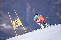 11th November 2020; Obergurgl, Austria; Vincent Kriechmayr of Austria during a free downhill training for the mens OeSV team in Obergurgl, Austria