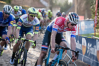 Dutch Road Champion Mathieu Van der Poel (NED/Alpecin-Fenix)<br /> <br /> 53rd Le Samyn 2021<br /> ME (1.1)<br /> 1 day race from Quaregnon to Dour (BEL/205km)<br /> <br /> ©kramon