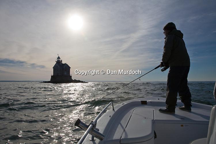 Fall fishing in Long Island Sound