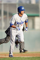 August 12, 2009: Pedro Guerrero of the Ogden Raptors. The Ogden Raptors are the Pioneer League affiliate of the Los Angeles Dodgers. Photo by: Chris Proctor/Four Seam Images