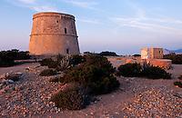 Spanien, Balearen, Ibiza, Torre d'en Rovira
