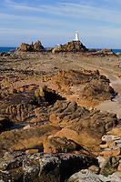 Leuchtturm Corbière Lighthouse (Phare), Insel Jersey, Kanalinseln