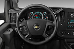 Car pictures of steering wheel view of a 2016 Chevrolet Express 3500-LS 4 Door Passenger Van Steering Wheel