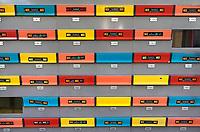 Nederland - Rotterdam -  2019. Ja Nee stickers op brievenbussen.   Foto Berlinda van Dam / Hollandse Hoogte