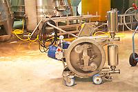 A special wine pump with soft action so as not to damage the wine Domaine Vignoble des Verdots Conne de Labarde Bergerac Dordogne France
