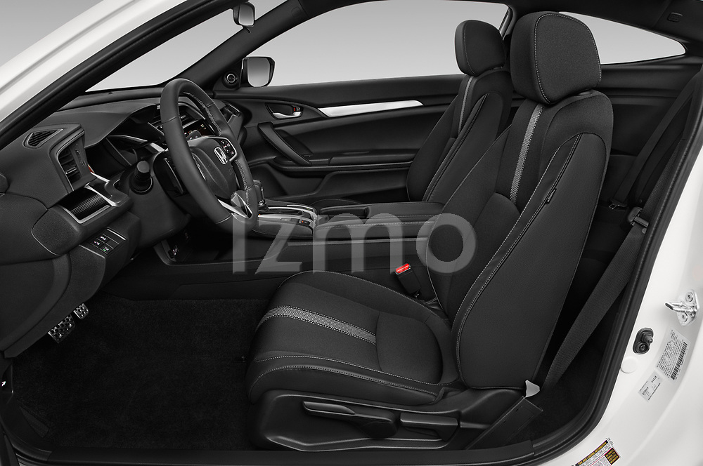Front seat view of a 2019 Honda Civic-Coupe Sport 2 Door Coupe front seat car photos