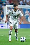 Real Madrid Marco Asensio during Santiago Bernabeu Trophy match at Santiago Bernabeu Stadium in Madrid, Spain. August 11, 2018. (ALTERPHOTOS/Borja B.Hojas)