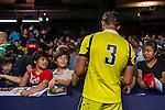 Australia vs Spain during the Cathay Pacific / HSBC Hong Kong Sevens at the Hong Kong Stadium on 28 March 2014 in Hong Kong, China. Photo by Xaume Olleros / Power Sport Images