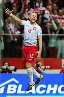04.09.2017, Warszawa, pilka nozna, kwalifikacje do Mistrzostw Swiata 2018, Polska - Kazachstan, Kamil Glik (POL)  gol bramka radosc, goal celebration, Poland - Kazakhstan, World Cup 2018 qualifier, football, fot. Tomasz Jastrzebowski / Foto Olimpik<br /><br />POLAND OUT !!!! *** Local Caption *** +++ POL out!! +++<br /> Contact: +49-40-22 63 02 60 , info@pixathlon.de