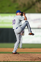 Kingsport Mets starting pitcher Max Wotell (30) in action against the Danville Braves at American Legion Post 325 Field on July 9, 2016 in Danville, Virginia.  The Mets defeated the Braves 10-8.  (Brian Westerholt/Four Seam Images)