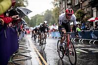 Nils Politt (DEU/Katusha-Alpecin)<br /> <br /> Elite Men Road Race from Leeds to Harrogate (shortened to 262km)<br /> 2019 UCI Road World Championships Yorkshire (GBR)<br /> <br /> ©kramon