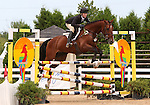 12 July 2009: Philippa Humphreys riding For The Top during the showjumping phase of the CIC 2* Maui Jim Horse Trials at Lamplight Equestrian Center in Wayne, Illinois.