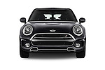 Car photography straight front view of a 2016 MINI Clubman Cooper-SD 5 Door wagon Front View