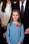 Princess Leonor of Spain attends the Order of Golden Fleece (Toison de Oro), ceremony at the Royal Palace . January 30,2018. (ALTERPHOTOS/Pool)