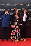 Ruben Ochandiano poses before 63rd Donostia Zinemaldia opening ceremony (San Sebastian International Film Festival) in San Sebastian, Spain. September 18, 2015. (ALTERPHOTOS/Victor Blanco)