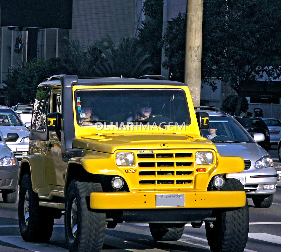 Carro Troller. SP. Foto de Manuel Lourenço.