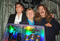 """10 September 2021 - Canadian rock power-trio Triumph documentary titled """"Triumph: Rock & Roll Machine"""" premieres at TIFF 2021.  File Photo: Canadian Music Industry Hall of Fame 2007, Toronto, Ontario, Canada. Photo Credit: Brent Perniac/AdMedia"""