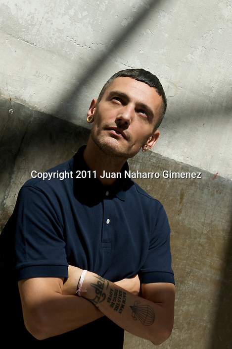 MADRID, SPAIN - JUNE 28:  David Delfin attends a presentation of the new 'Iberostar Hotel' uniforms on June 28, 2011 in Madrid, Spain.  (Photo by Juan Naharro Gimenez)