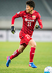 Wu Lei of Shanghai SIPG FC in action during their AFC Champions League 2017 Playoff Stage match between Shanghai SIPG FC (CHN) and Sukhothai FC (THA) at the Shanghai Stadium, on 07 February 2017 in Shanghai, China. Photo by Marcio Rodrigo Machado / Power Sport Images