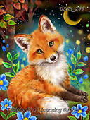 Kayomi, CUTE ANIMALS, LUSTIGE TIERE, ANIMALITOS DIVERTIDOS, paintings+++++,USKH299,#ac#, EVERYDAY ,#A#,realistic ,fox,foxes