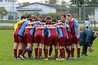 1st XI football. Kuranui College v Tararua College Sports Exchange at Kuranui College in Greytown, Wairarapa, New Zealand on Friday, 11 August 2017. Photo: Dave Lintott / lintottphoto.co.nz