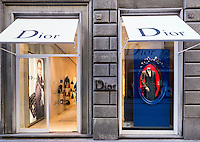 Dior retail clothing store, Florence, Italy