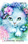 Marie, REALISTIC ANIMALS, REALISTISCHE TIERE, ANIMALES REALISTICOS, paintings+++++PreciousKitty,USJO65,#A# ,Joan Marie cat