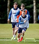 09.05.2019 Rangers training: Steven Davis
