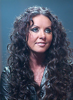 Dec 10, 2001, Montreal, Quebec, Canada; <br /> <br /> Singer Sarah Brightman  gives an interview about her new compilation album CLASSICS, Dec 10th 2001 in Montreal, Quebec, Canada<br /> <br /> Formerly married to classical composer Andrew Lloyd Weber , she played in his Broadway musical comedy ; Cats, The Phantom of the Opera.<br /> <br /> <br /> <br /> <br /> PHOTO :  Agence Quebec Presse