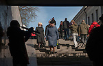 Kaunas Lithuania Saturday, daily life people in the city. Baltic State. 2017 2010s,