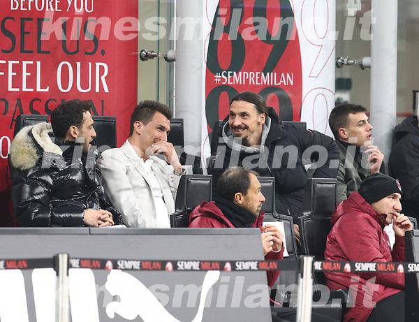 Milano 03-03-2021<br /> Stadio Giuseppe Meazza<br /> Serie A  Tim 2020/21<br /> Milan - Udinese<br /> nella foto: Ibra                                                      <br />  Antonio Saia