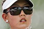 CHON BURI, THAILAND - FEBRUARY 16:  Michelle Wie of USA looks after tees off on the 9th hole during day one of the LPGA Thailand at Siam Country Club on February 16, 2012 in Chon Buri, Thailand.  Photo by Victor Fraile / The Power of Sport Images