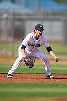Seattle Mariners Dalton Kelly (22) during an instructional league intrasquad game on October 6, 2015 at the Peoria Sports Complex in Peoria, Arizona.  (Mike Janes/Four Seam Images)