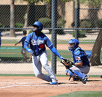 Starling Heredia - Los Angeles Dodgers 2019 spring training (Bill Mitchell)