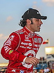 Dario Franchitti (10) driver of the Energizer car, in action during the IZOD Indycar Firestone 550 race at Texas Motor Speedway in Fort Worth,Texas. Justin Wilson (18) driver of the Sonny's BBQ car wins the Firestone 550 race...