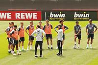 Ansprache Bundestrainer Joachim Loew (Deutschland Germany) an die Mannschaft vor dem Trainingsspiel - Seefeld 04.06.2021: Trainingslager der Deutschen Nationalmannschaft zur EM-Vorbereitung