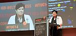 Berlin-Germany - May 21, 2014 -- International Trade Union Confederation - 3rd ITUC World Congress 'Building Workers' Power'; here, Sharan Burrow, ITUC-General Secretary -- Photo: © HorstWagner.eu / ITUC