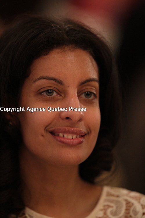 Quebec Industry Dominique Anglade, March 11, 2016<br /> <br /> PHOTO : Pierre Roussel - Agence Quebec Presse