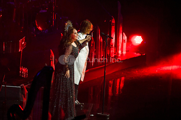 LONDON, ENGLAND - NOVEMBER 11: Sarah Brightman and Yoshiki performing at Royal Albert Hall on November 11, 2019 in London, England.<br /> CAP/MAR<br /> ©MAR/Capital Pictures /MediaPunch ***NORTH AMERICAS ONLY***