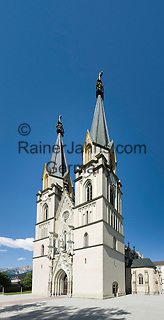 Austria, Styria, Admont: minster of Admont Abbey   Oesterreich, Steiermark, Admont: Stift Admont, Stiftskirche