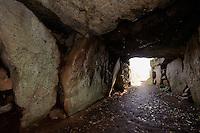 Dolmem Le Creux des Faies, Insel Guernsey, Kanalinseln