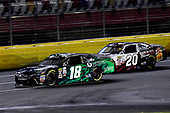 NASCAR XFINITY Series<br /> Drive for the Cure 300<br /> Charlotte Motor Speedway, Concord, NC<br /> Saturday 7 October 2017<br /> Daniel Suarez, Juniper Toyota Camry and Erik Jones, Main Street Bistro Toyota Camry<br /> World Copyright: Rusty Jarrett<br /> LAT Images