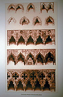 John Ruskin. Windows of the early Gothic palaces, 1853.