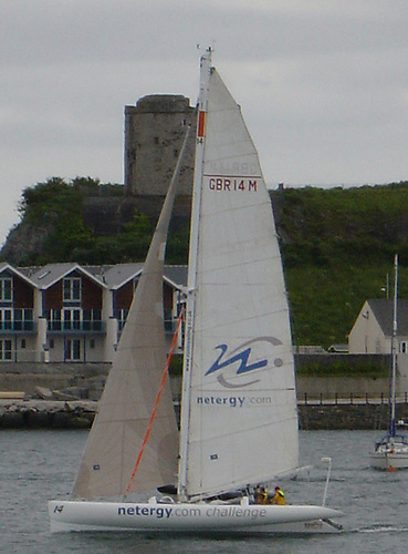 The Round Britain and Ireland race sees an amazing assortment of yachts taking part.
