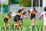 Action from Rathmore v Austin Stacks in the Kerry LGFA Championship Football Semi Final