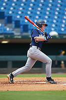 James Tibbs (29) of Pope HS in Marietta, GA playing for the Milwaukee Brewers scout team during the East Coast Pro Showcase at the Hoover Met Complex on August 2, 2020 in Hoover, AL. (Brian Westerholt/Four Seam Images)
