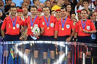 Referee Nicola Nicola Rizzoli with his team