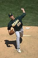Mark Mulder. Oakland Athletics vs San Francisco Giants. San Francisco, CA 7/4/2004 MANDATORY CREDIT: Brad Mangin