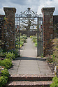 Gate to Walled Garden, Hinton Ampner, Hampshire.